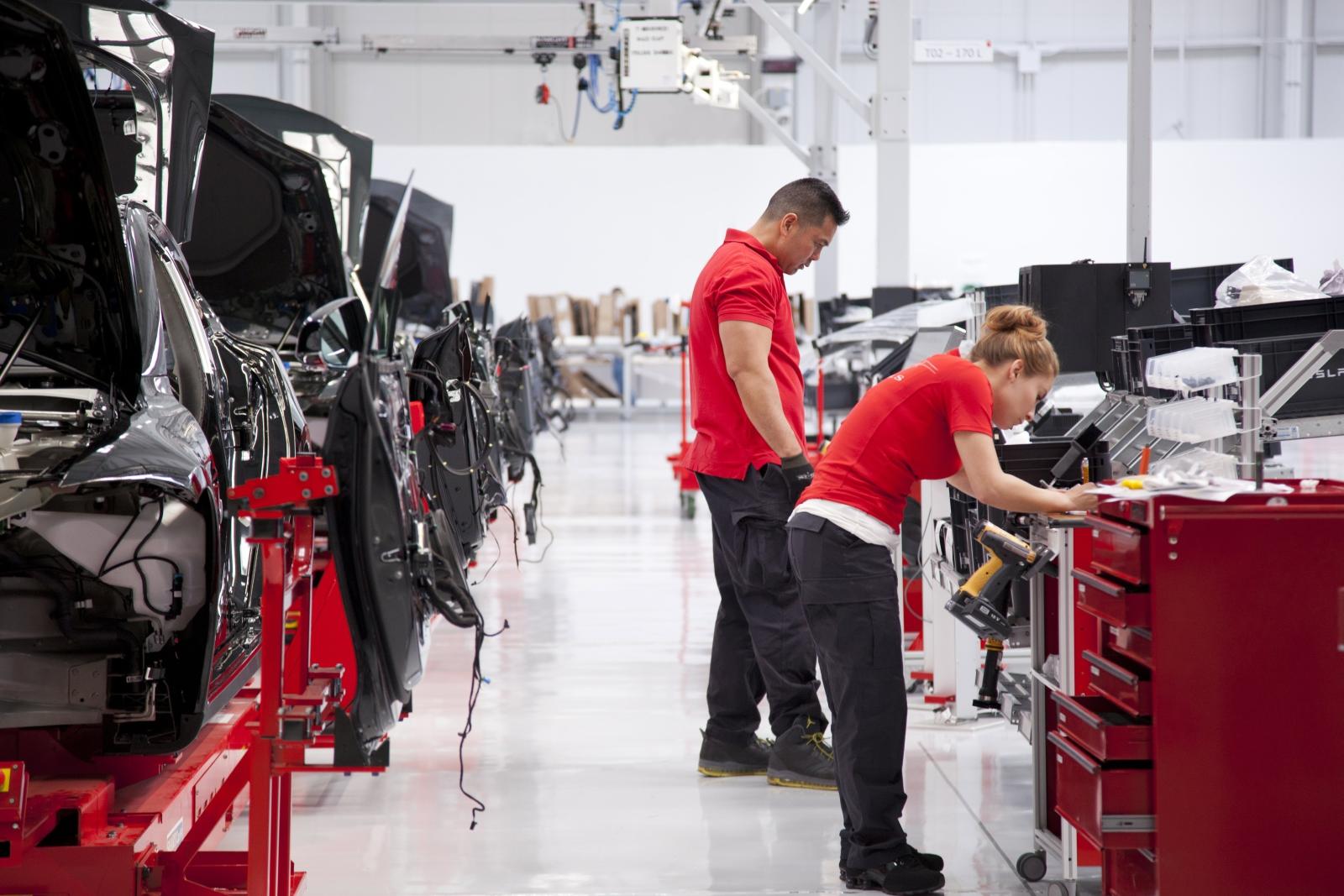 Fabryka samochodów Tesla - USA