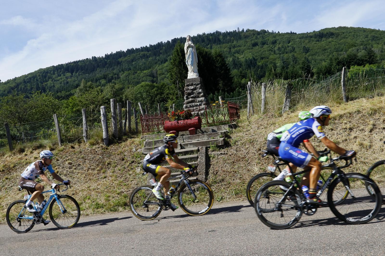 Tour de France 2017. Fot.  EPA/ROBERT GHEMENT Dostawca: PAP/EPA.