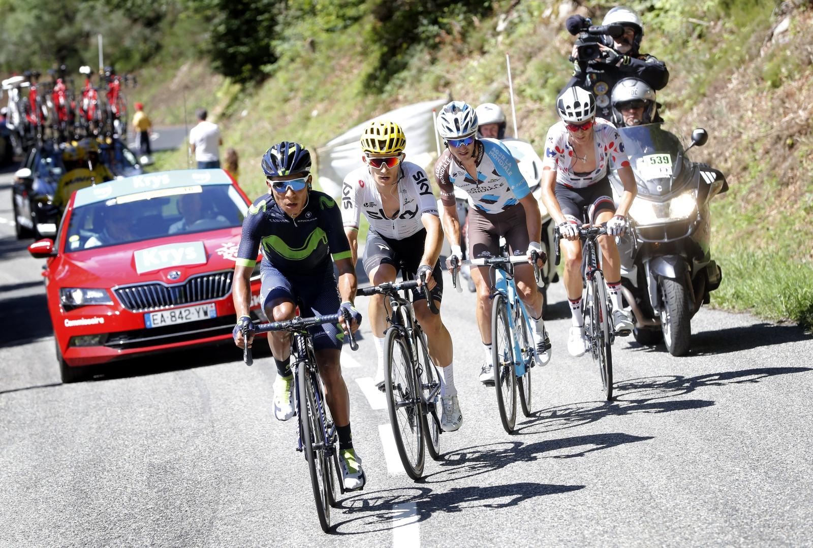 Tour de France 2017. fot. EPA/GUILLAUME HORCAJUELO