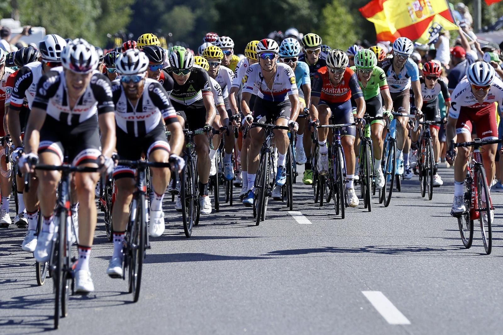 Tour de France 2017 Fot. PAP/EPA/ROBERT GHEMENT