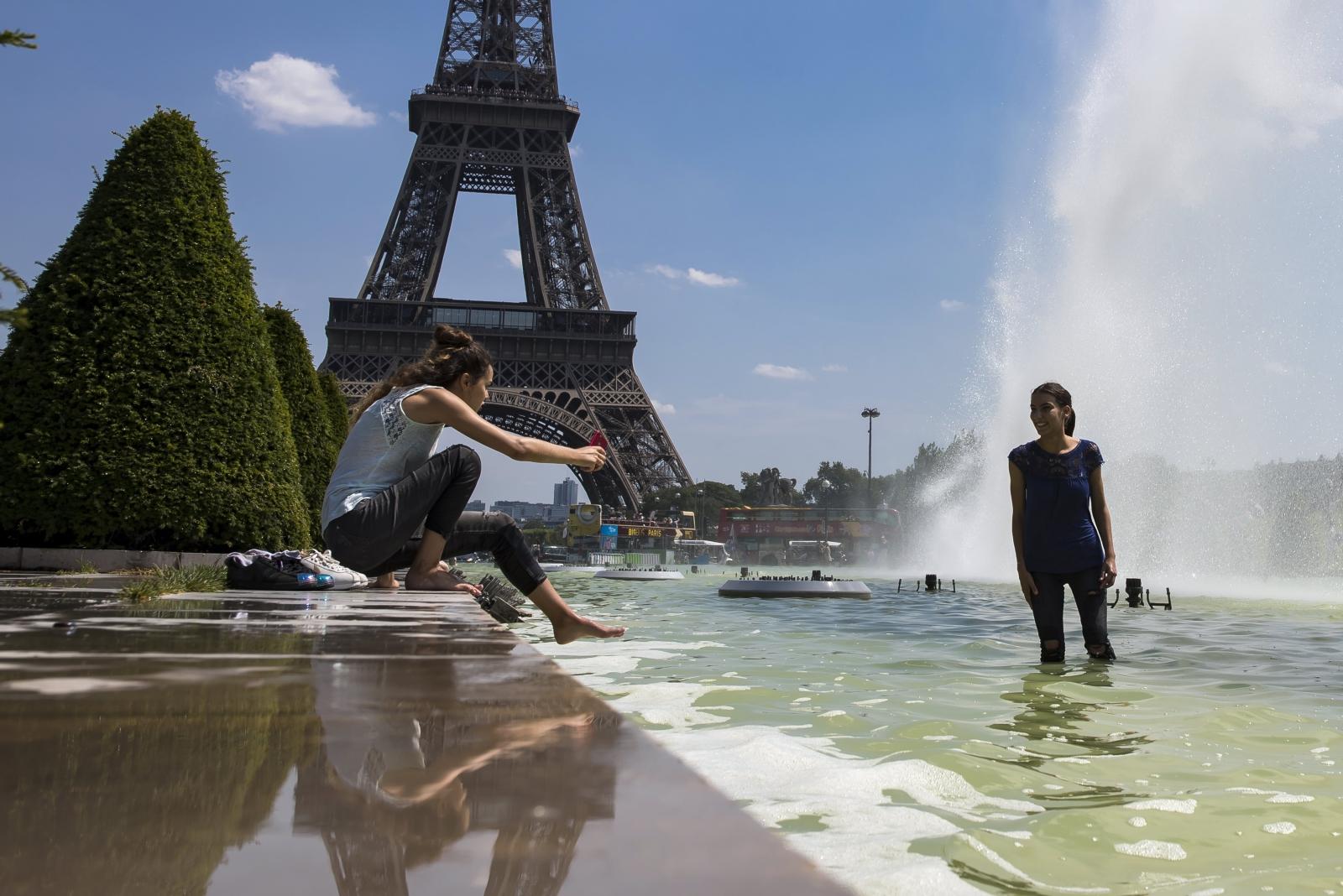 Upały w Paryżu