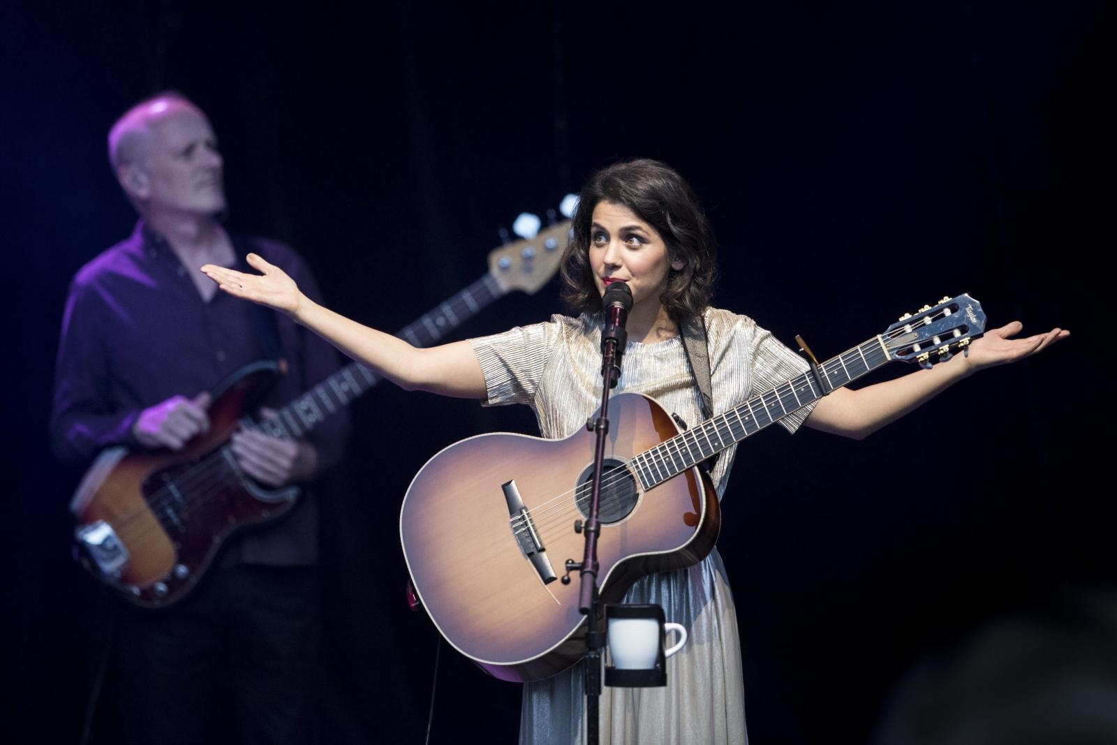 Katie Melua w Zurichu, podczas szwajcarskiego festiwalu muzycznego