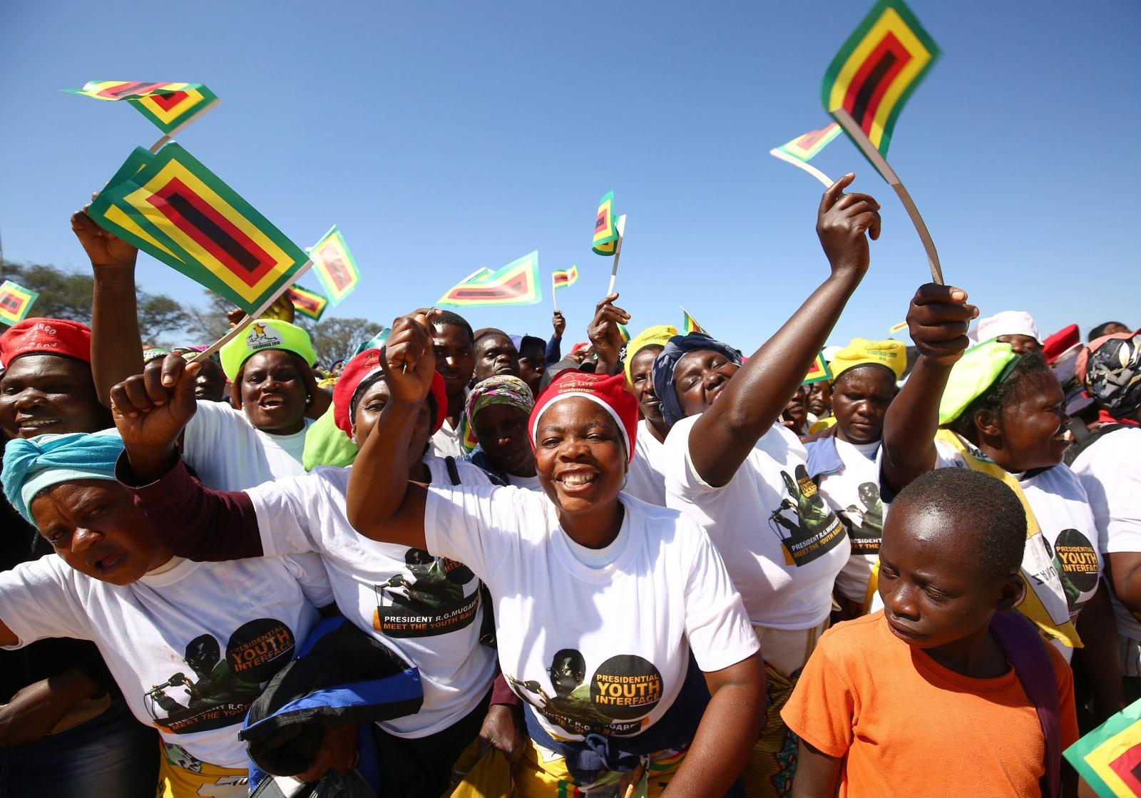 Kampania prezydencka Robert Mugabe w Zimbabwe