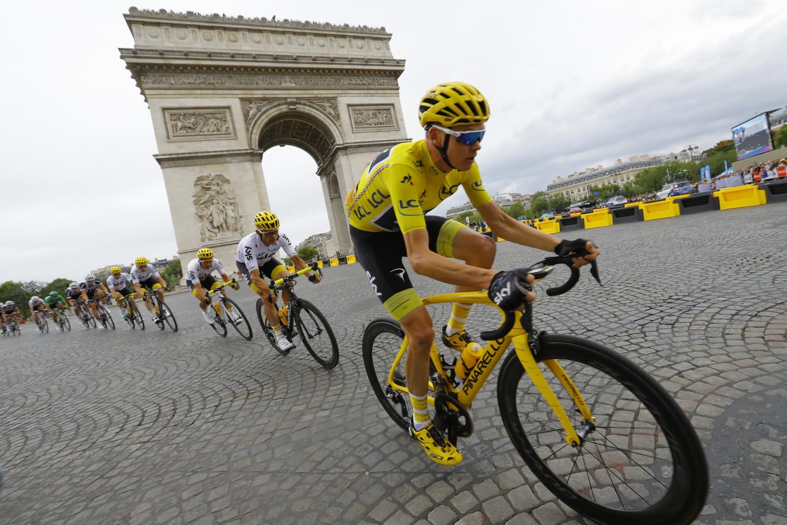 Tour De France, Pola Elizejskie, Francja