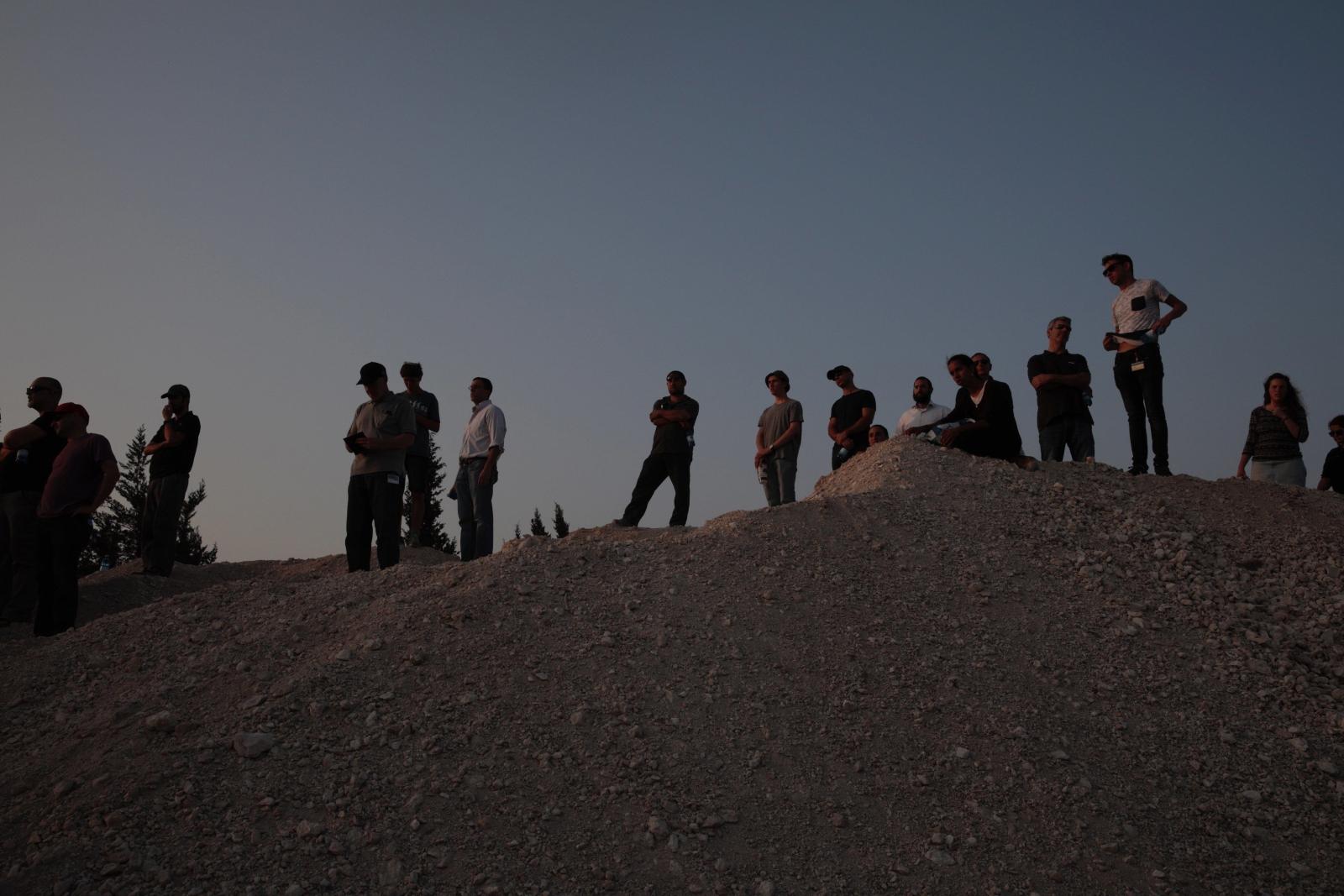 Pogrzeb jednego z Izraelczyków, który zginął w wyniku ostatnich starć w Jerozolimie