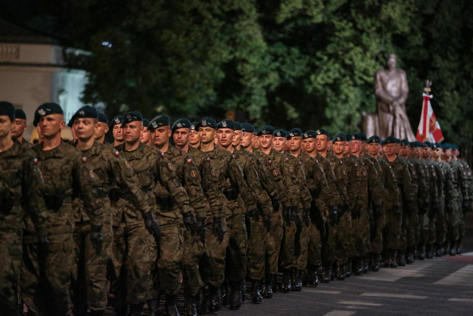 Warszawa, próba generalna przed defiladą. PAP/Marcin Obara