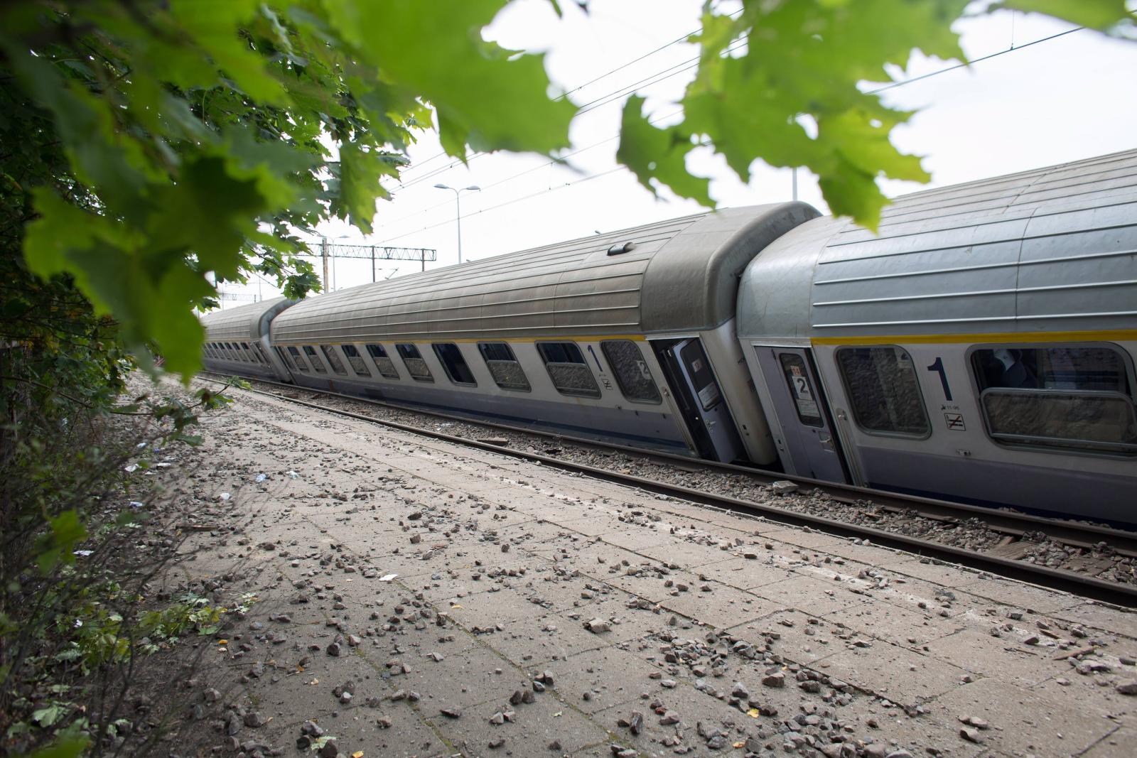 Smętowo Graniczne, Wypadek kolejowy PAP/Jan Dzban