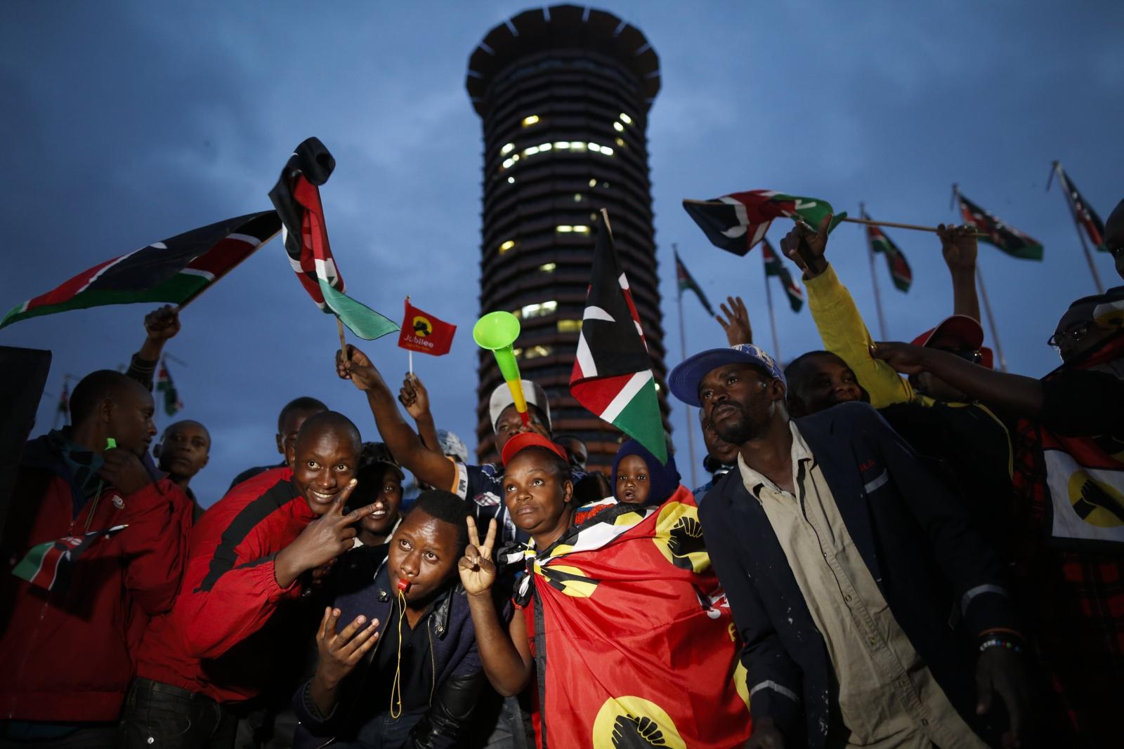 Wybory w Kenii EPA/DAI KUROKAWA