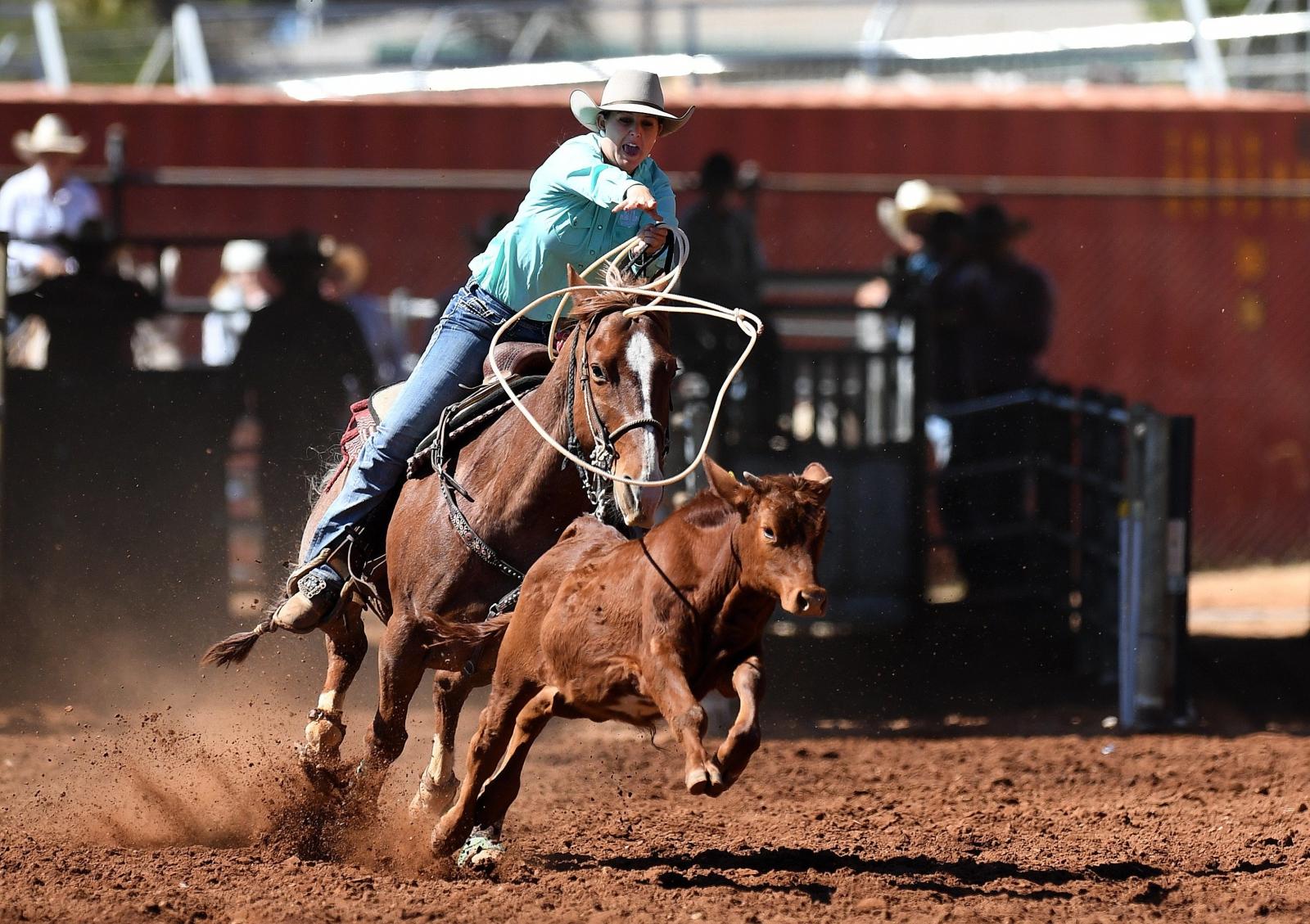 Rodeo w Australii EPA/DAN PELED  AUSTRALIA AND NEW ZEALAND OUT