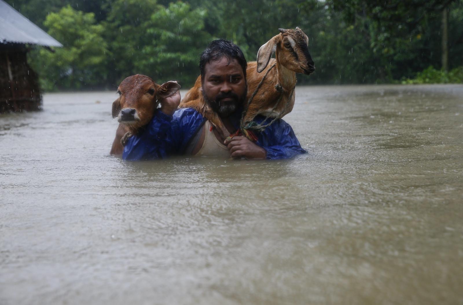 Powódź w Nepalu EPA/NARENDRA SHRESTHA