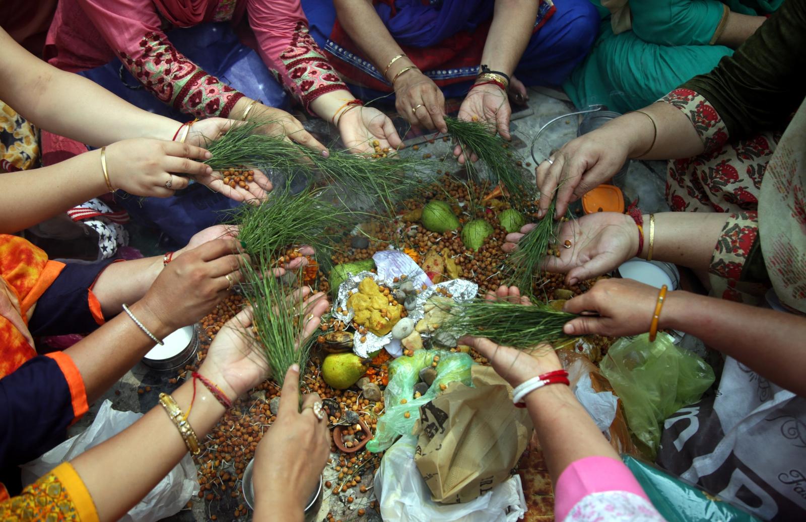 Indie, Hindi Festiwal EPA/JAIPAL SINGH