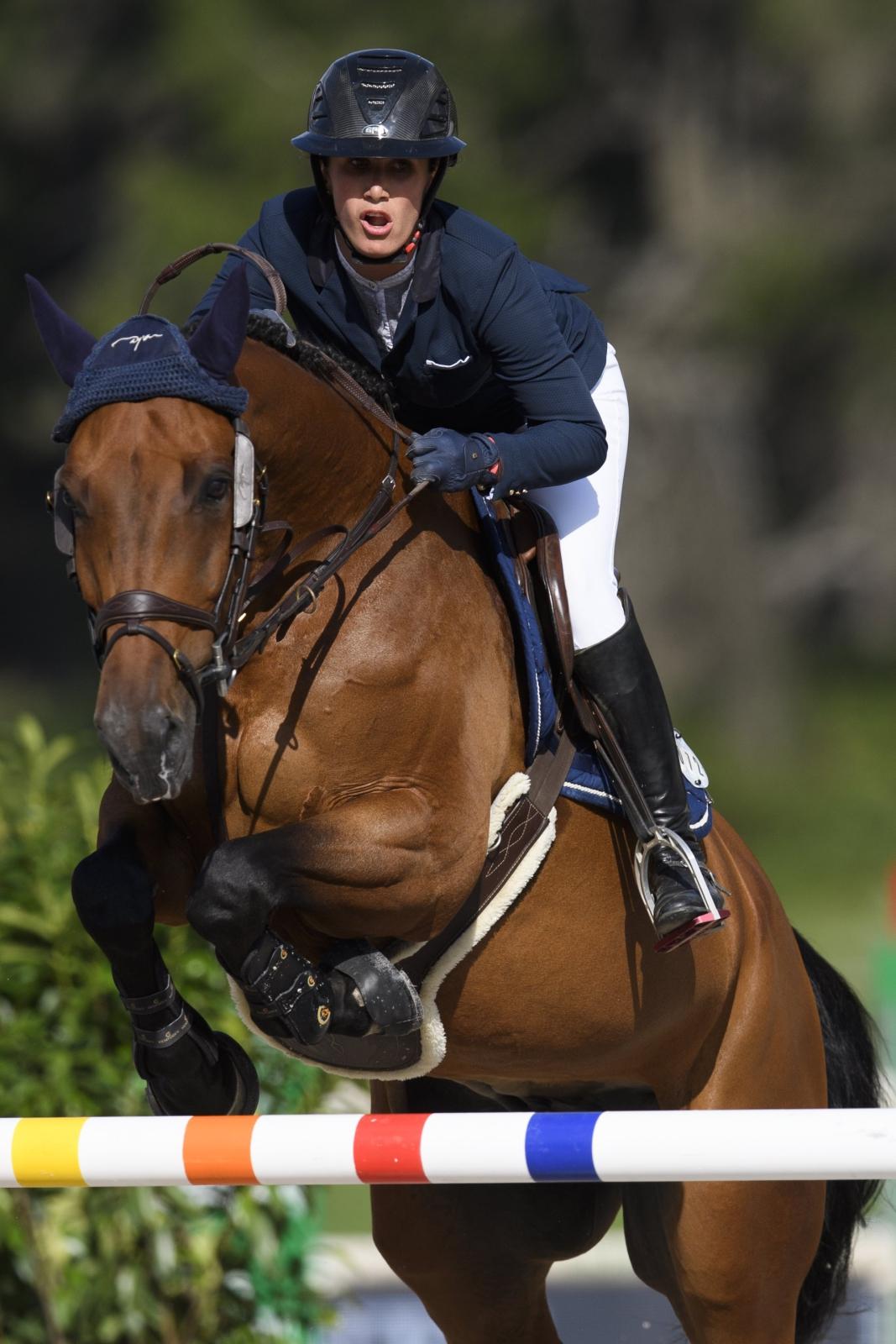 Szwajcaria zawody jeździeckie EPA/GIAN EHRENZELLER