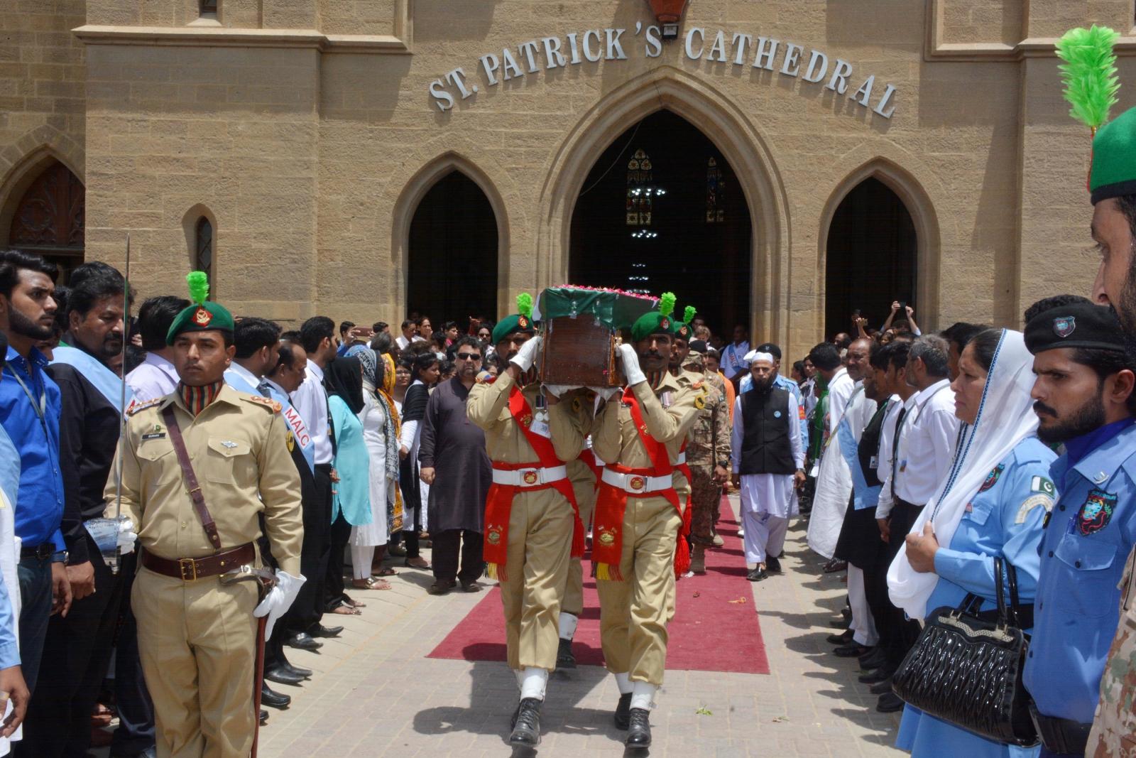 Pakistański pogrzeb siostry Ruth Pfau