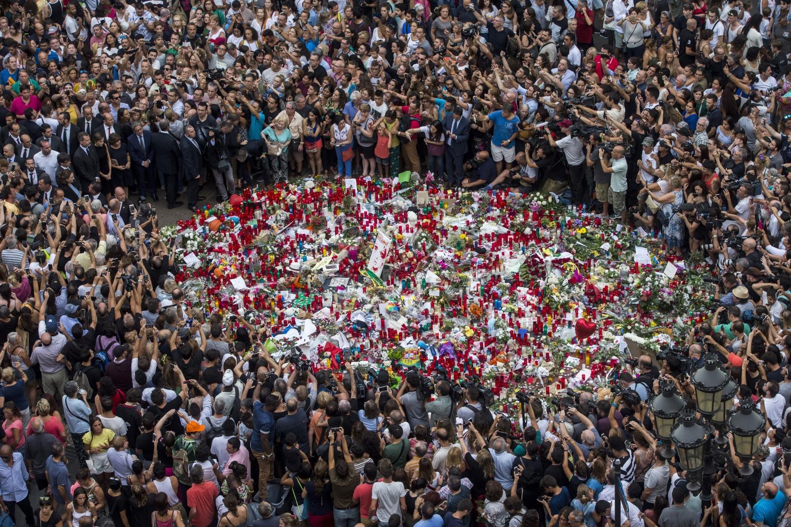 Po atakach w Barcelonie, Hiszpania