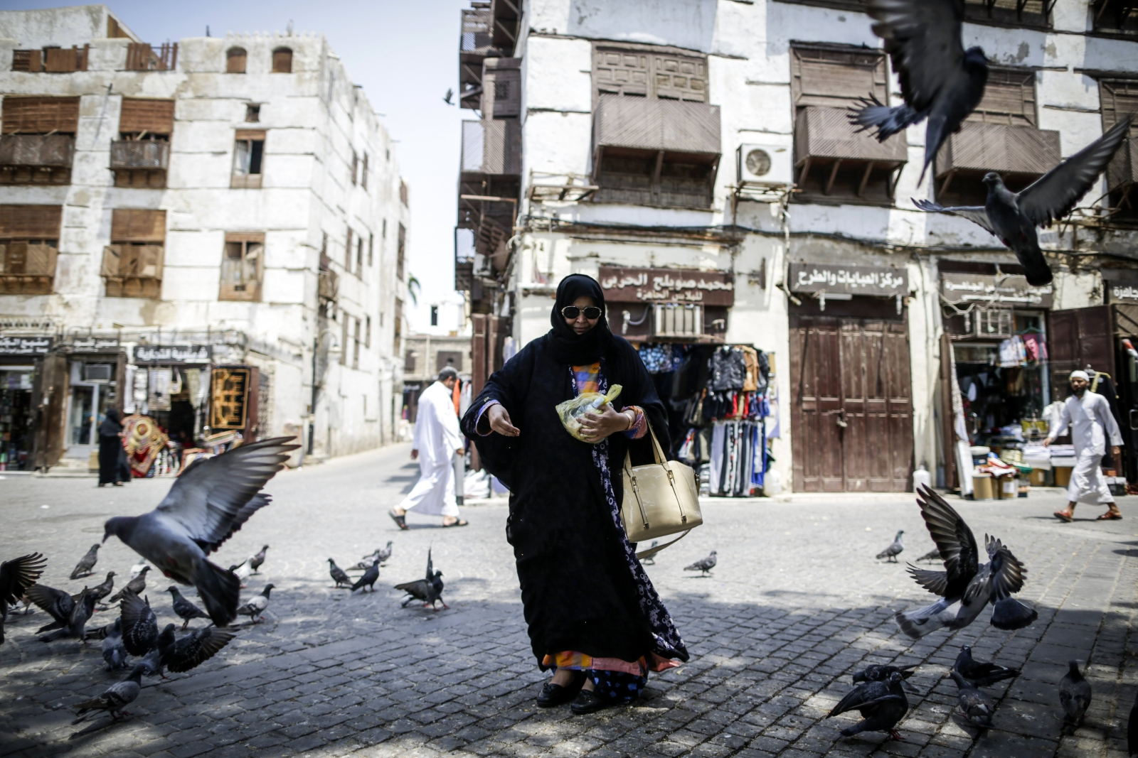 Codzienność w Jeddah, Arabia Saudyjska
