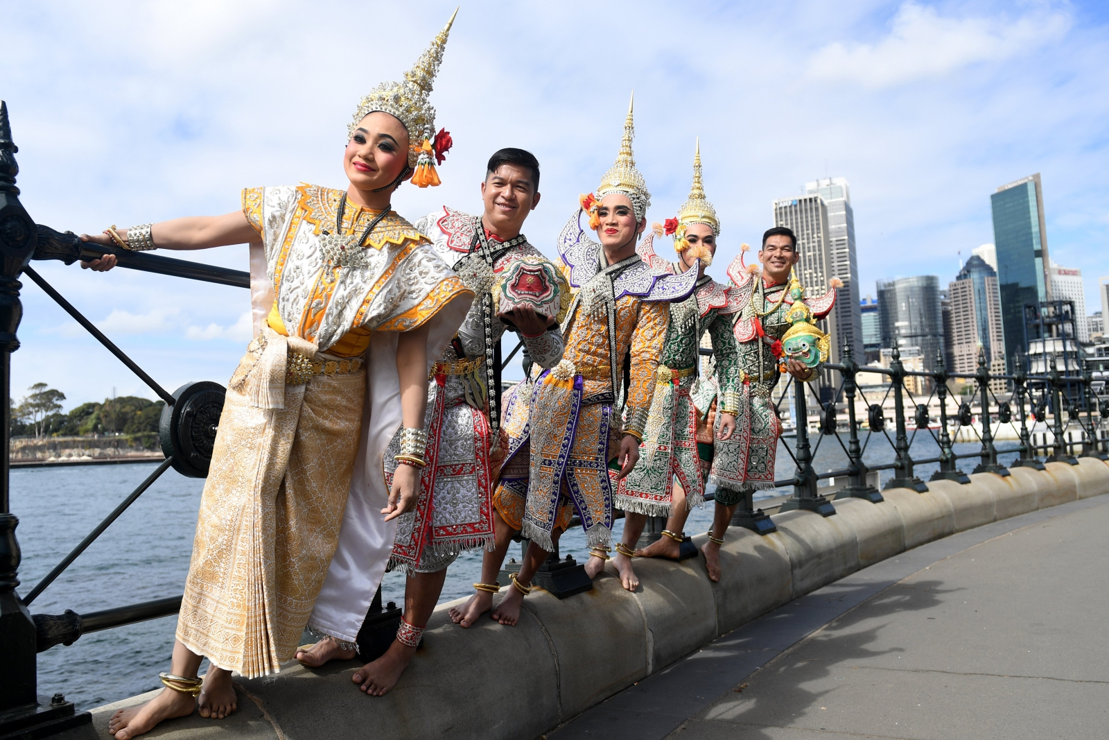 Teatr w Tajlandii  EPA/PAUL MILLER  AUSTRALIA AND NEW ZEALAND OUT