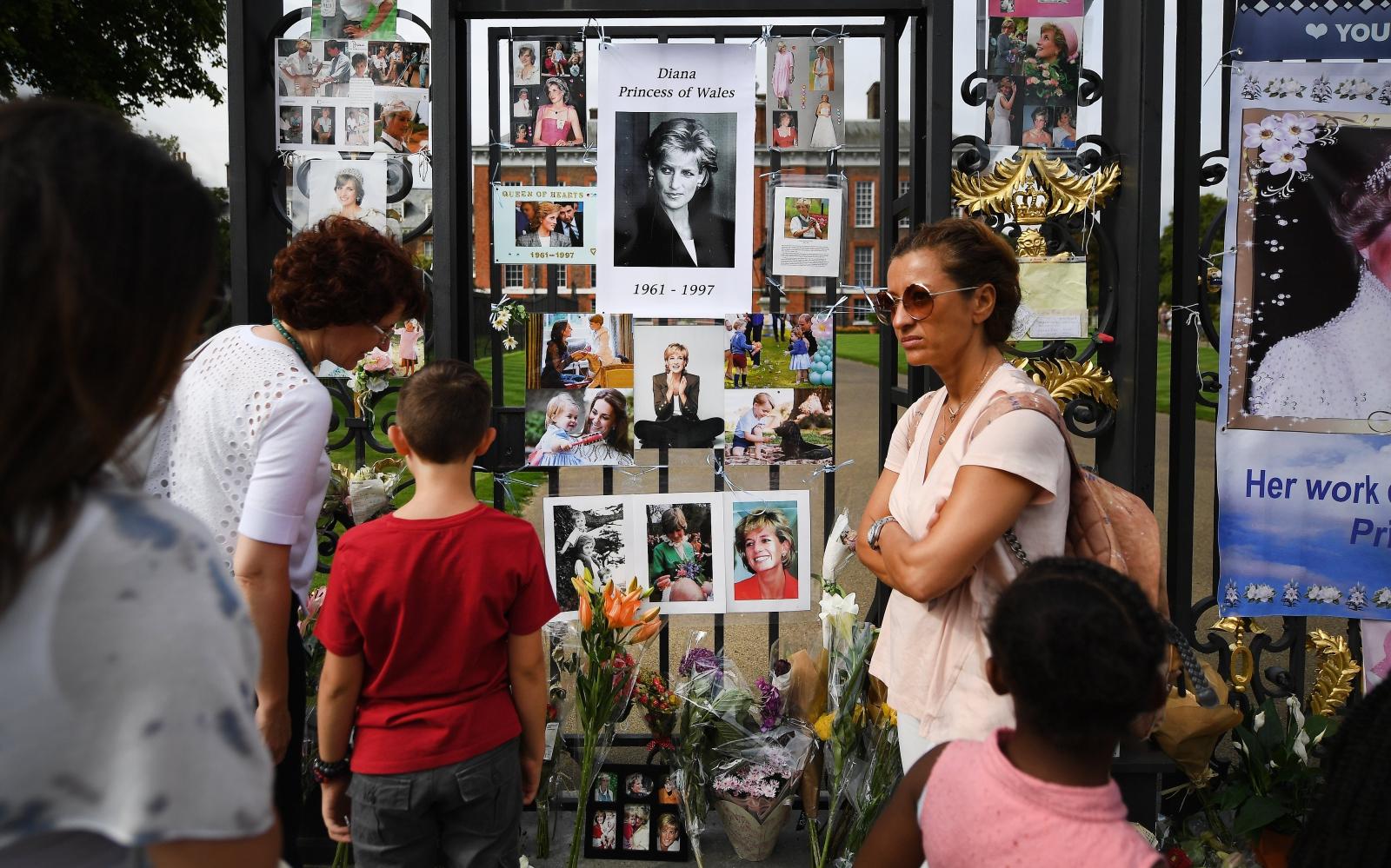 20 rocznica śmierci księżnej Diany  EPA/ANDY RAIN