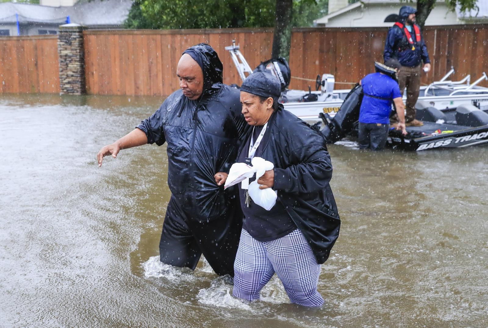 Texas, USA,  powódź EPA/TANNEN MAURY