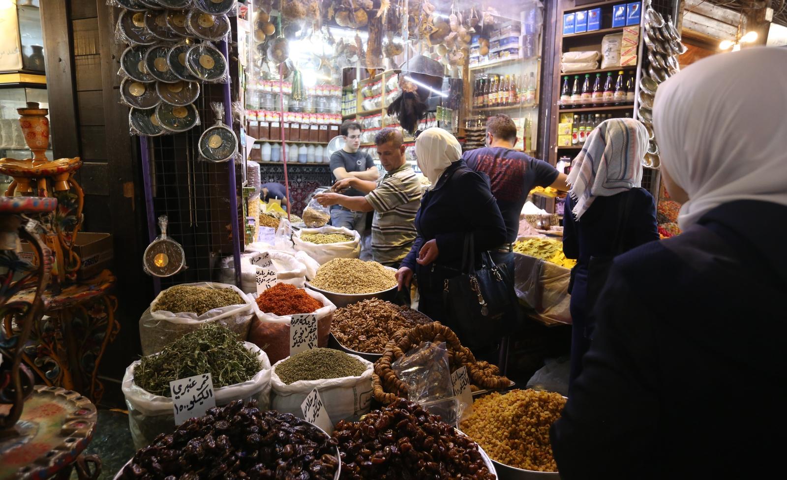 Muzułmańskie święto Eid al-Adha, w Damaszku