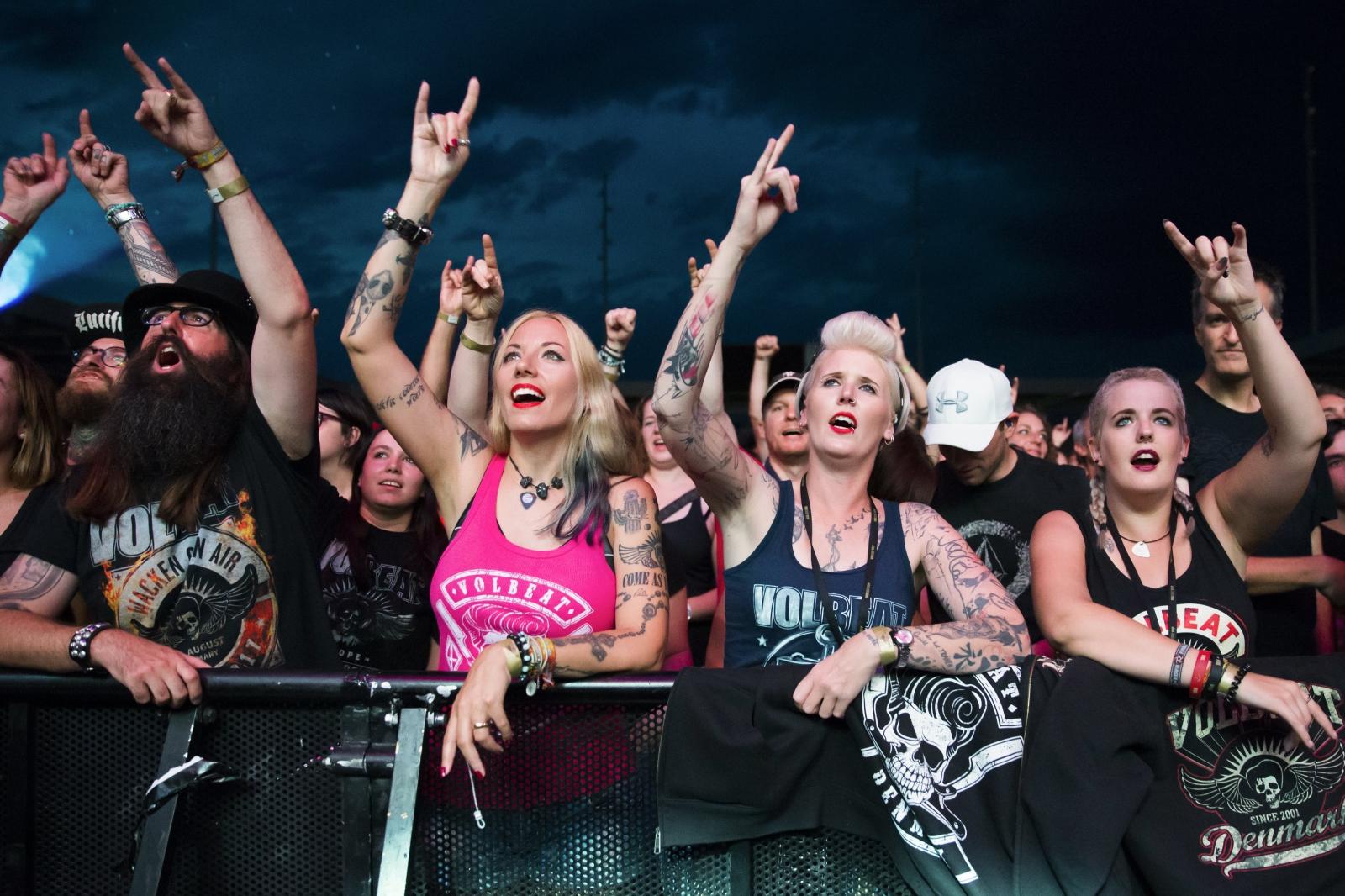 Koncert rockowy w Thun, Szwajcaria