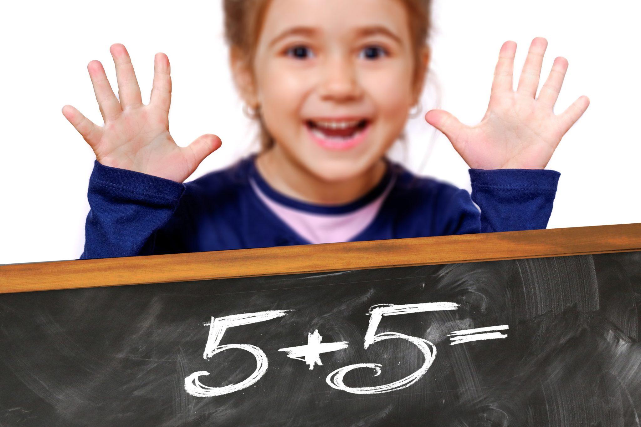 szkoła, dziecko, dziewczynka