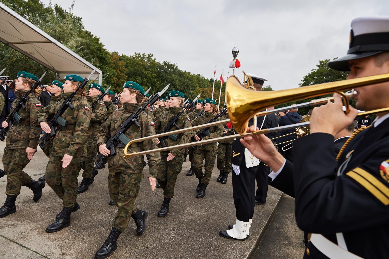 Uroczysta przysięga wojskowa na Westerplatte, Gdańsk