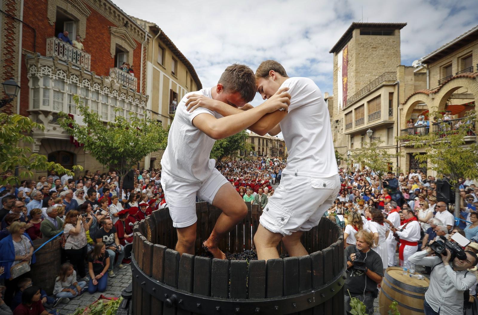 Hiszpania. Festiwal Wina  EPA/VILLAR LOPEZ