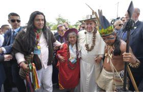Papież w Kolumbii