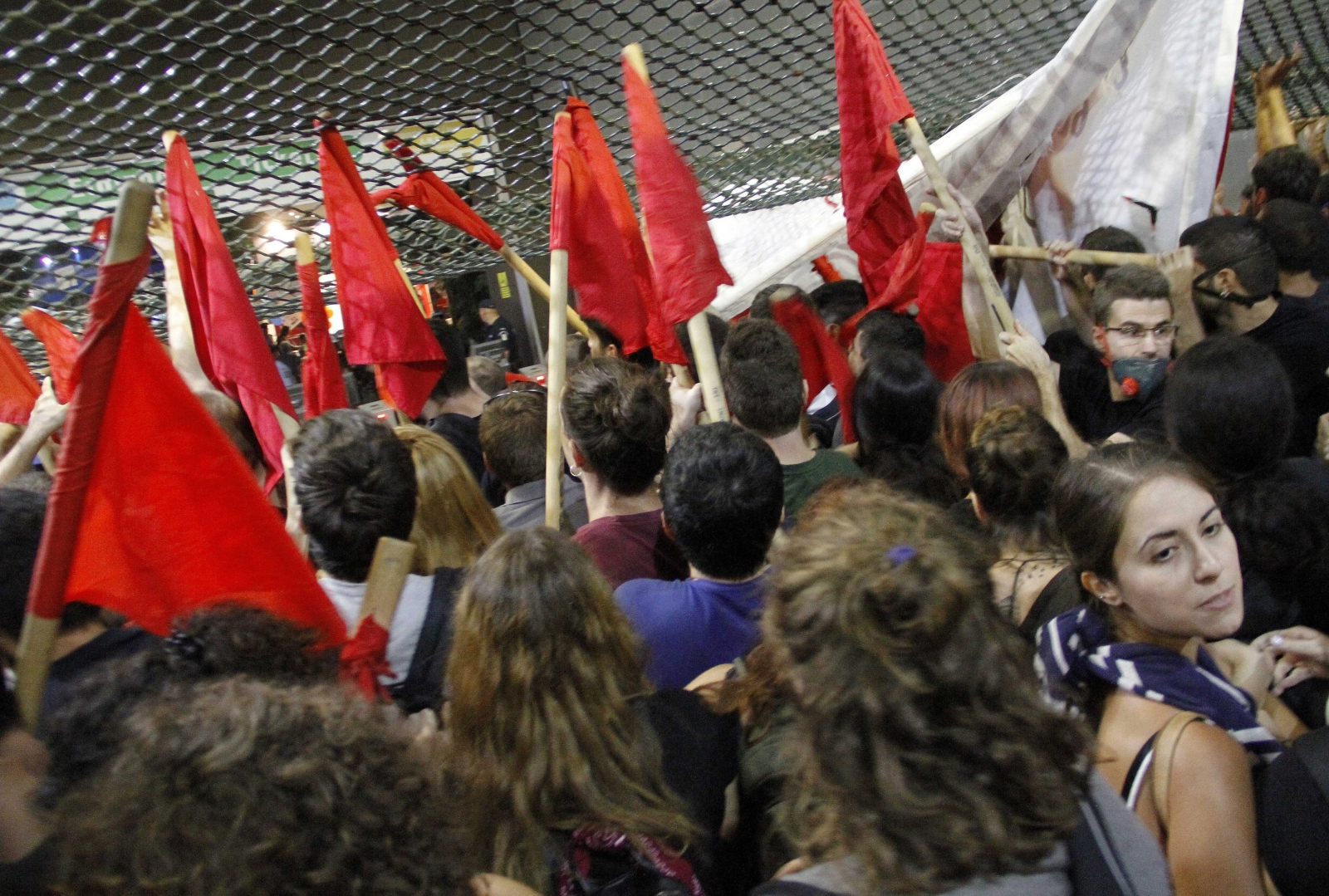 Protesty w Grecji.