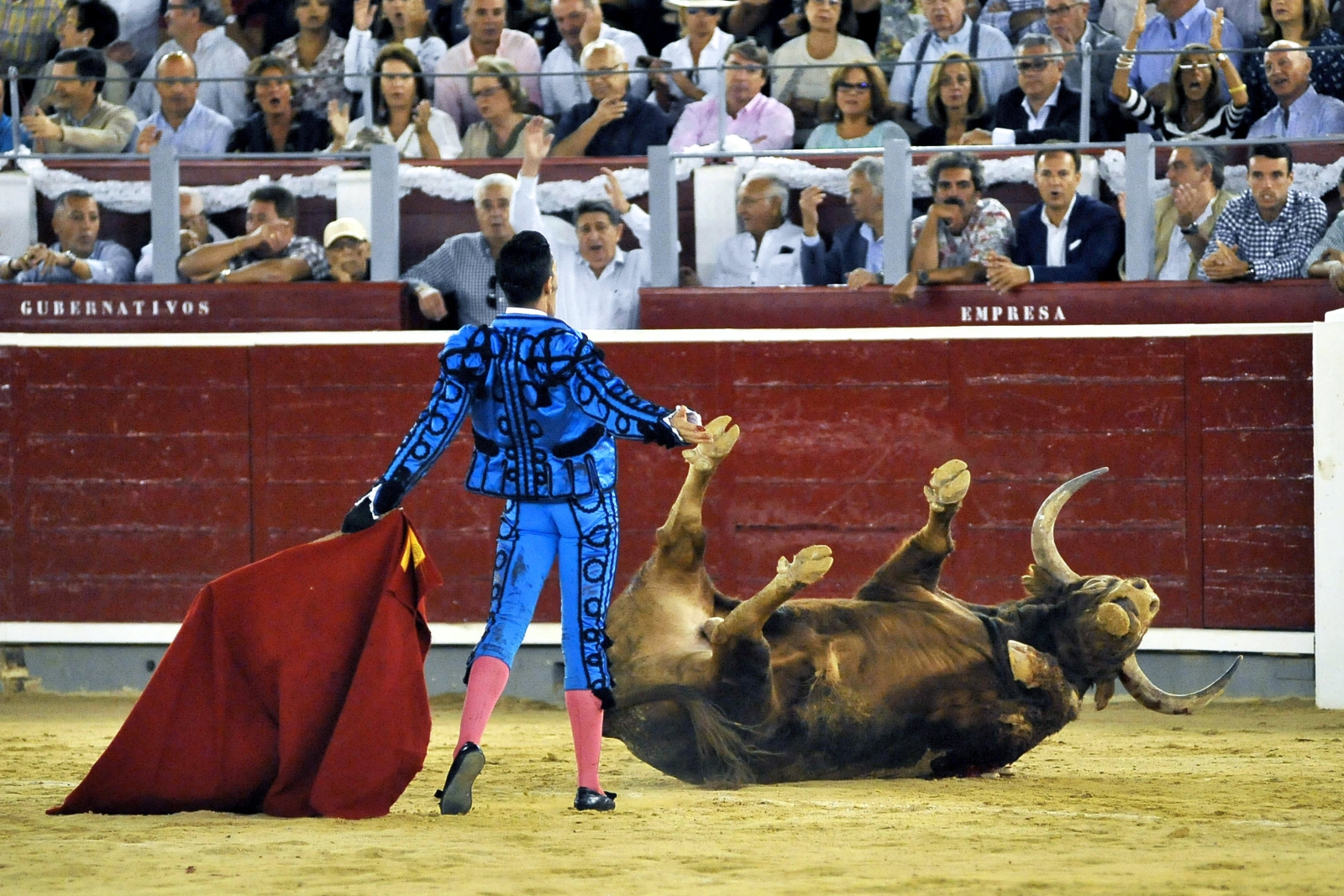 Hiszpania walka z bykami
