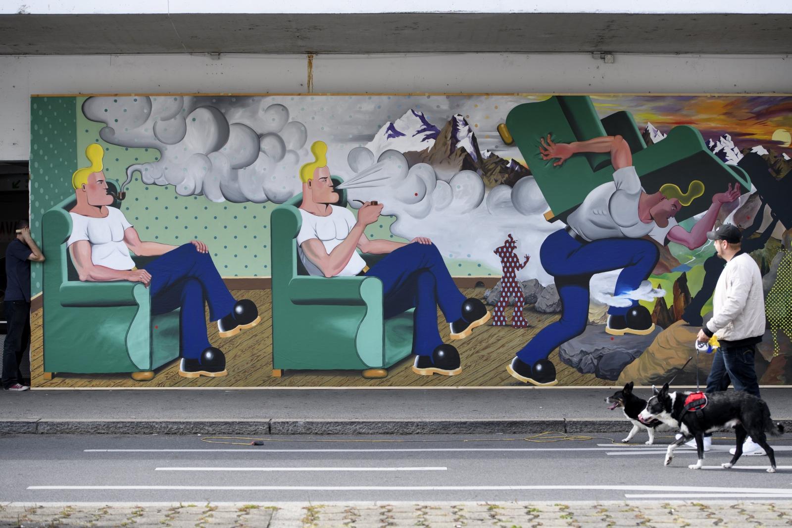 Szwajcaria Faestiwal komiksów EPA/LAURENT GILLIERON