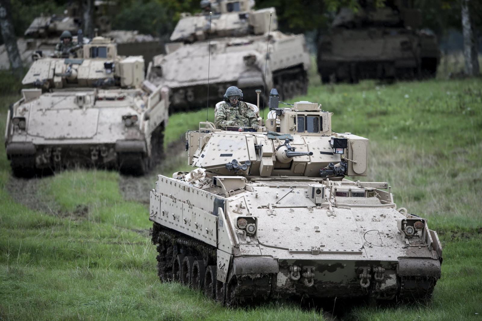 Ćwiczenia NATO w Szwecji EPA/Bjorn Larsson Rosvall/TT  SWEDEN OUT