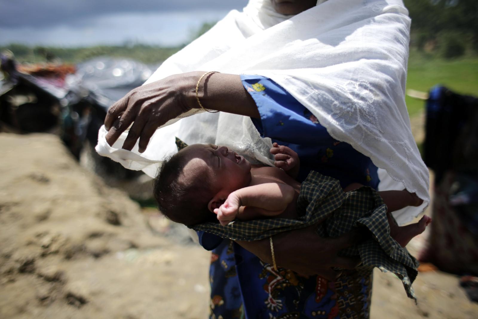 Uchodźcy w Bangladeszu EPA/ABIR ABDULLAH