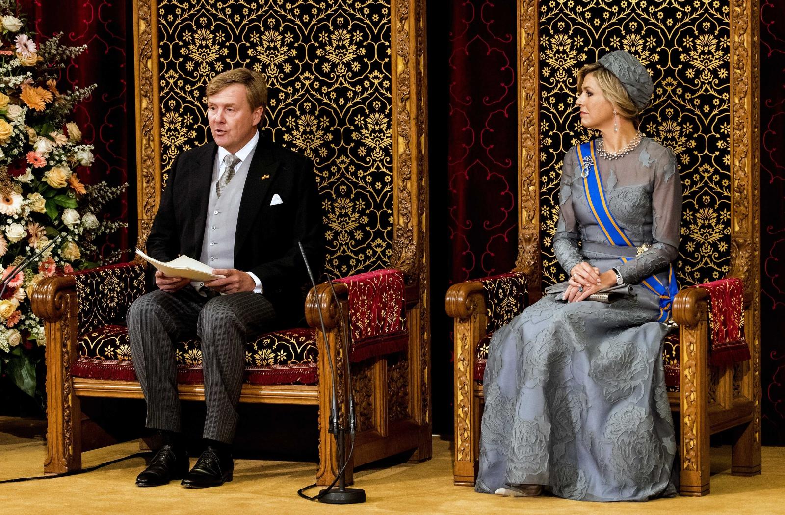 Dzień Książęcy w Holandii EPA/KOEN VAN WEEL
