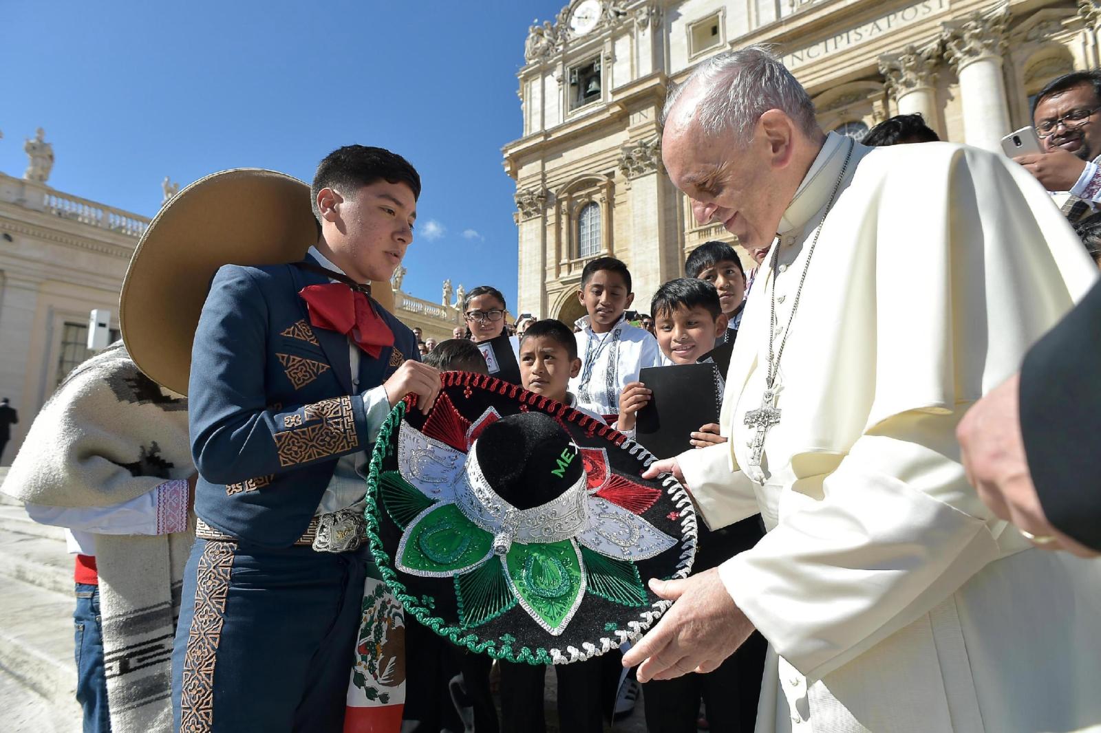 Papież Franciszek, audiencja generalna EPA/OSSERVATORE ROMANO