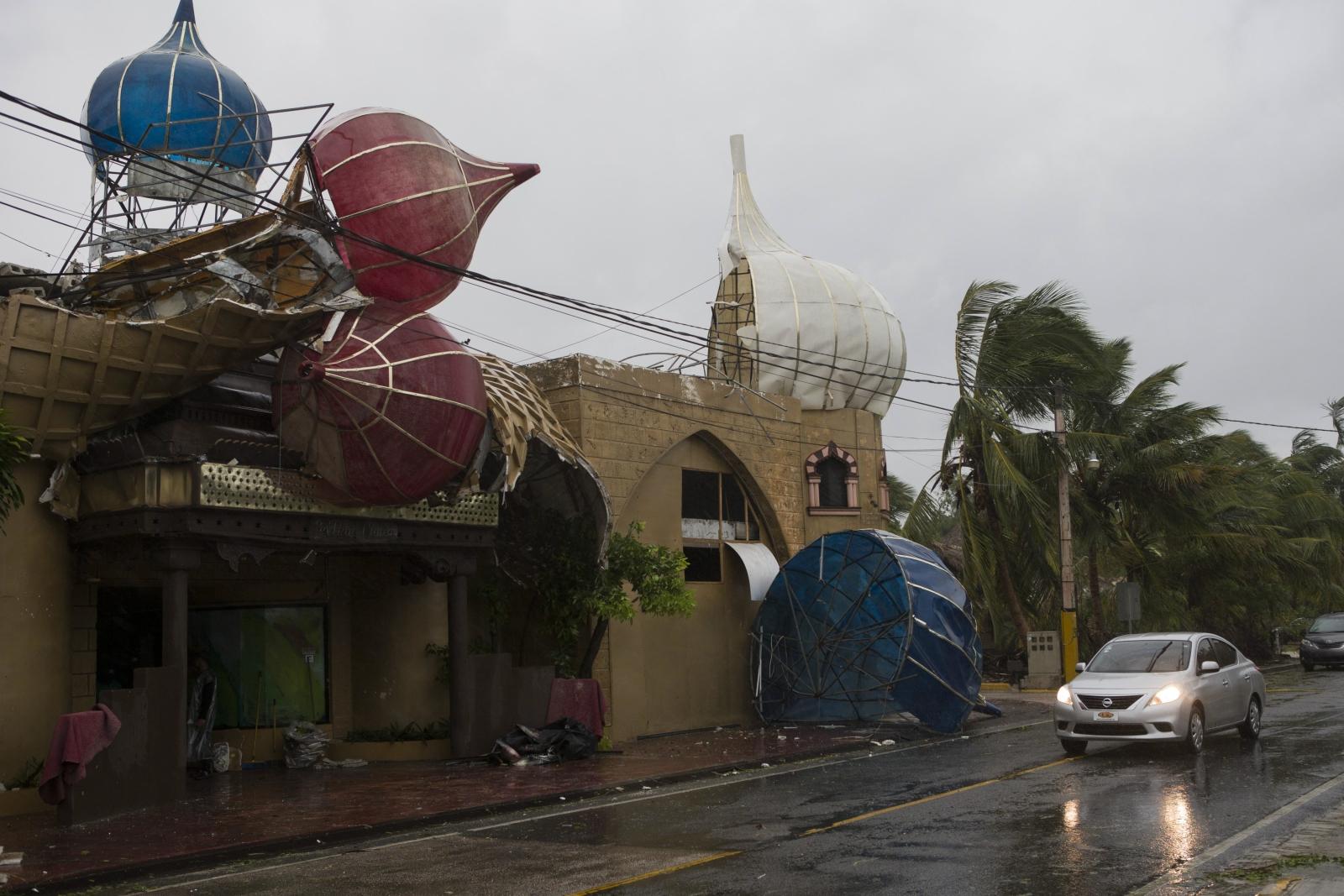 Huragan Maria w Punta Cana, Dominikana