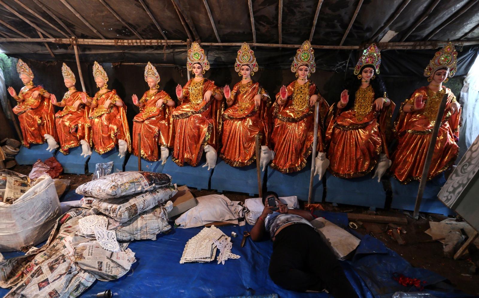 Festiwal Durga Puja  w Mumbaju, Indie