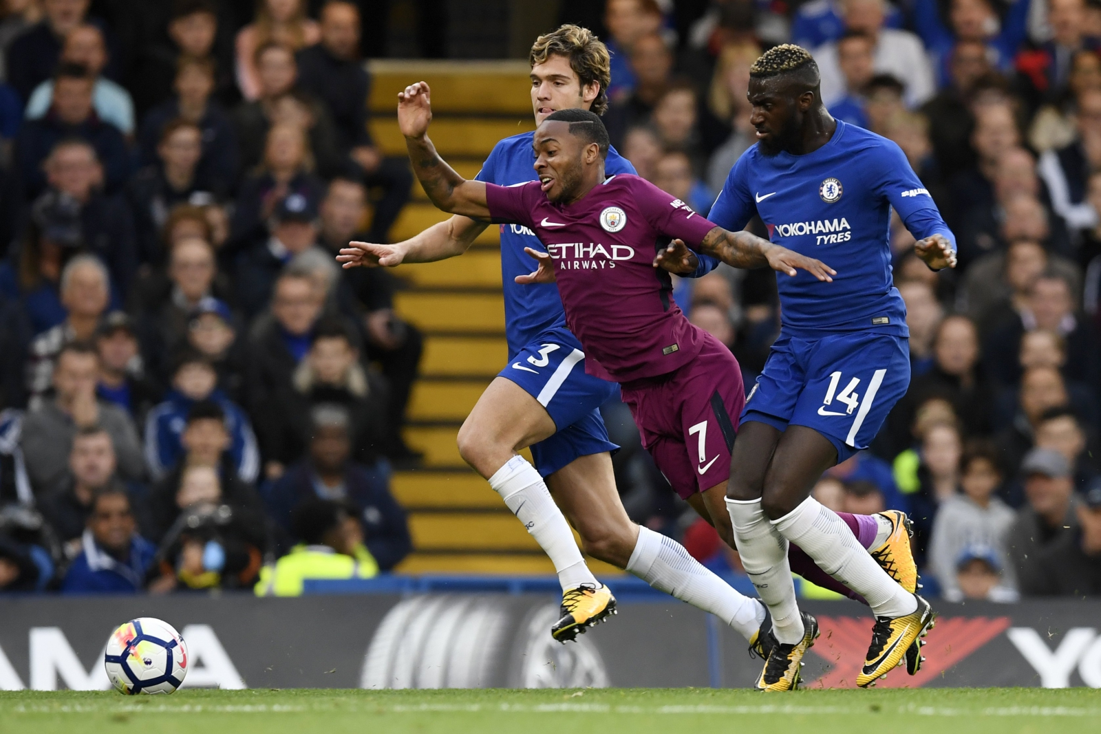 Chelsea vs Manchester City. fot. EPA/WILL OLIVER