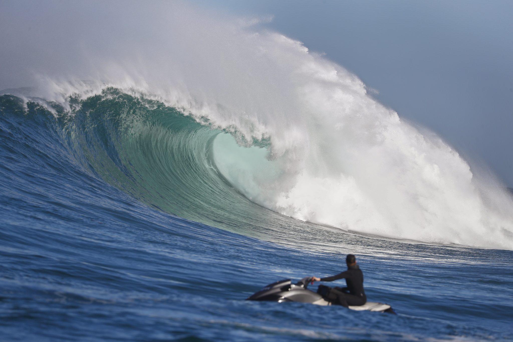 Cape Town, Kapsztad, surfer, fot: Nic Bothma, PAP/EPA