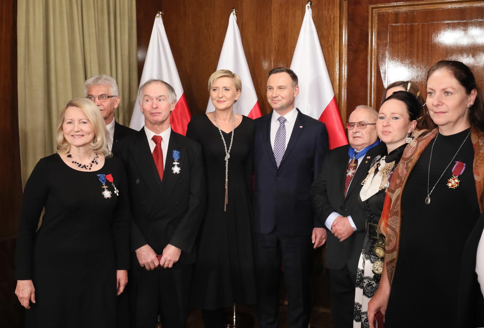 Spotkanie z Polonią w Helsinkach - Polska i Fińska para prezydencka