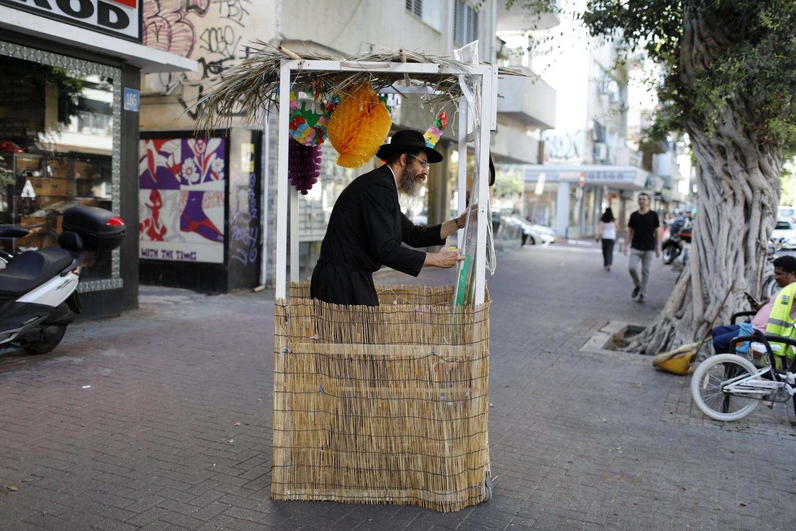 Żydowskie święto namiotów, Tel-Aviv