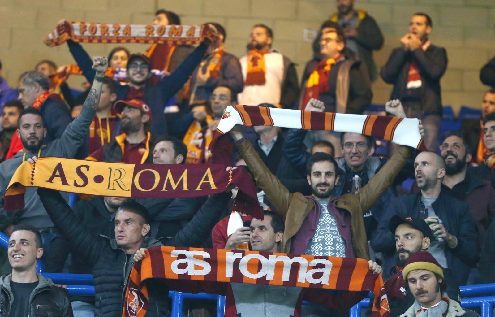 Mecz Ligi Mistrzów pomiędzy FC Chelsea a AS Roma.