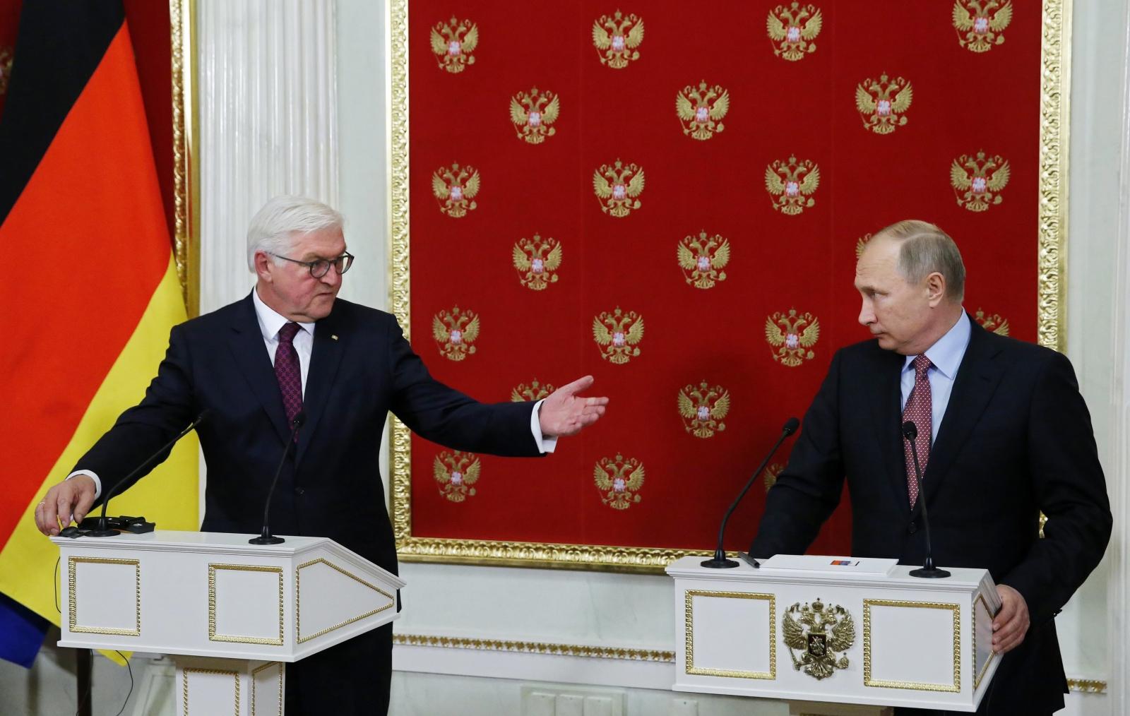 Spotkanie Rosyjskich i Niemieckich władz w Moskwie