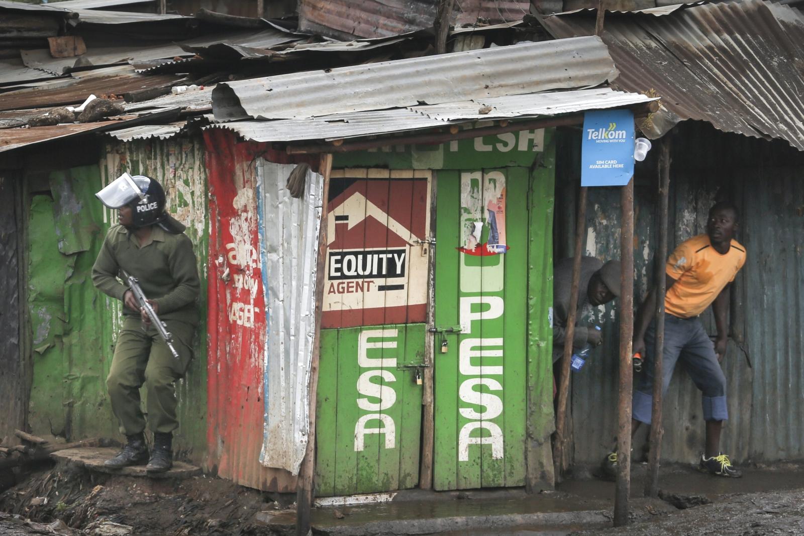 Zamieszki w Kenii w związku z wyborami, Nairobi