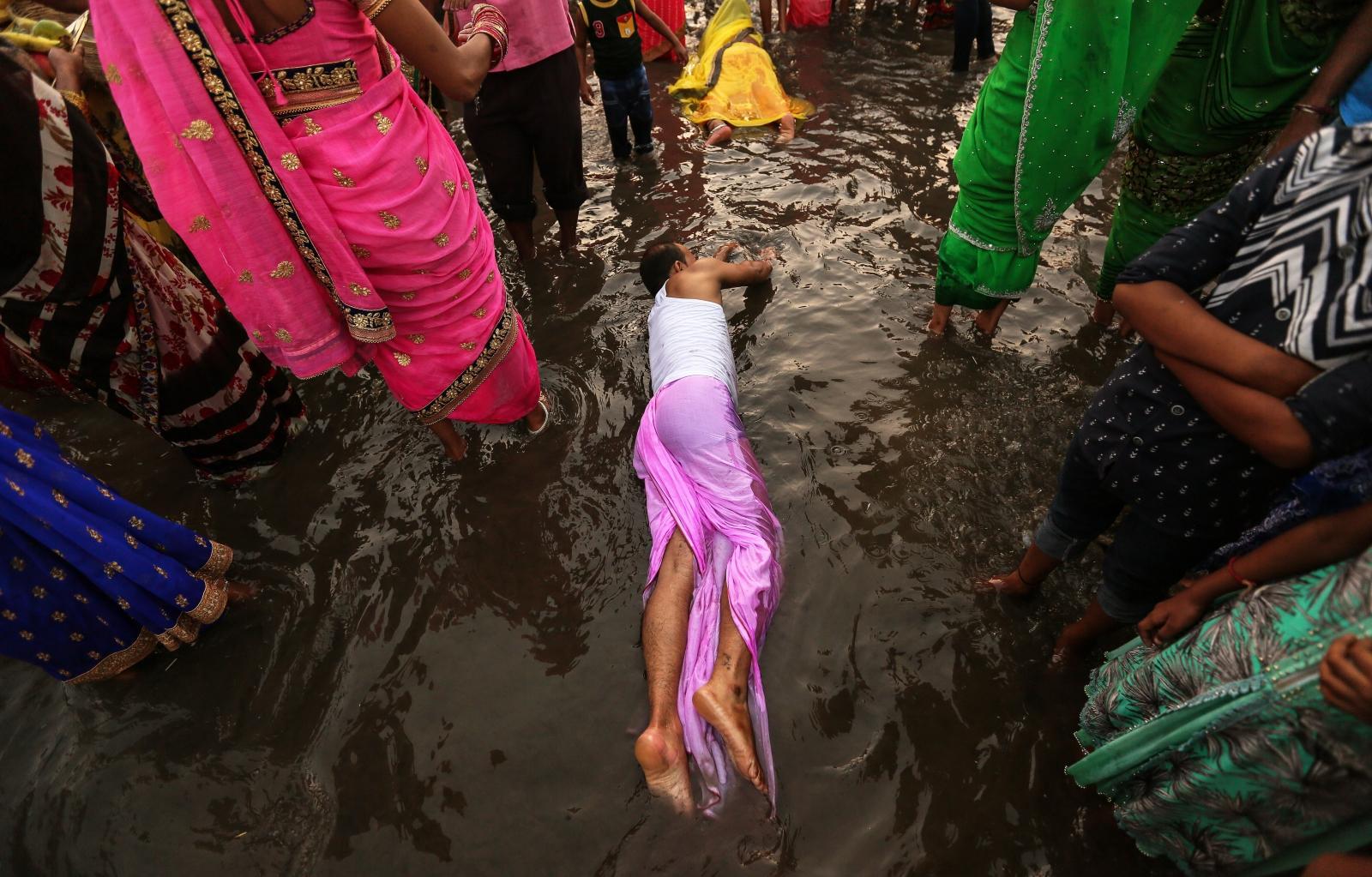 Festiwal Chhath Puja w Mumbaju