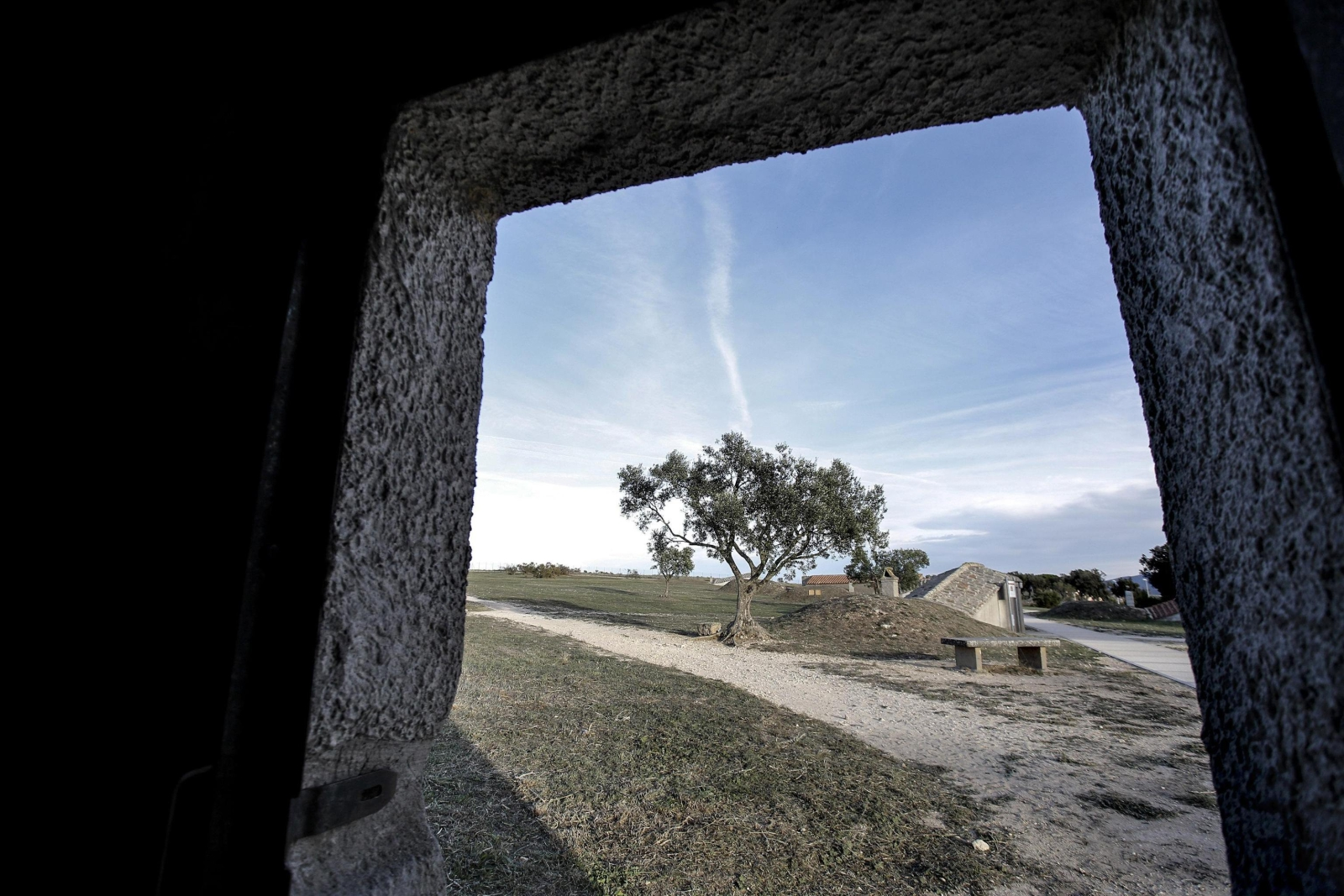 Etruska nekropolia w mieście Tarquinia w Lacjum, Włochy.