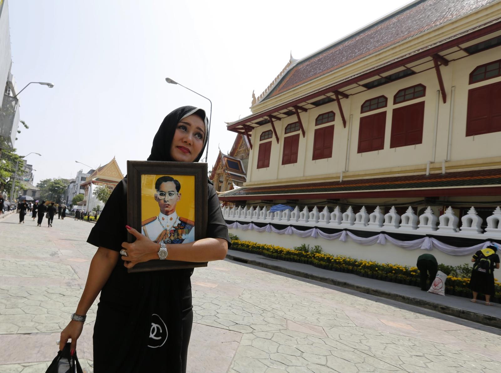 Pogrzeb króla Tajlandii, Bhumibol Adulyadej