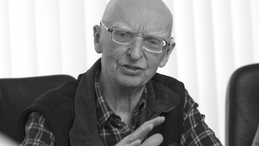 04.08. - Prof. Bogusław Wolniewicz, wybitny filozof, logik i publicysta.