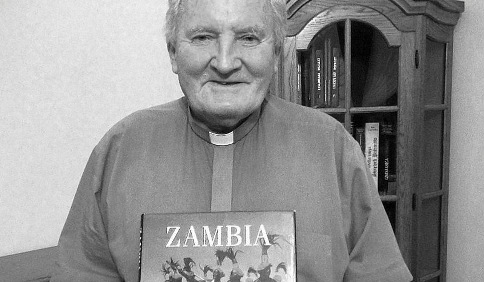 18.09. - o. Marceli Prawica był legendą misji afrykańskich. Zmarł w wieku 79 lat, po 45 latach ewangelizacji w Zambii.