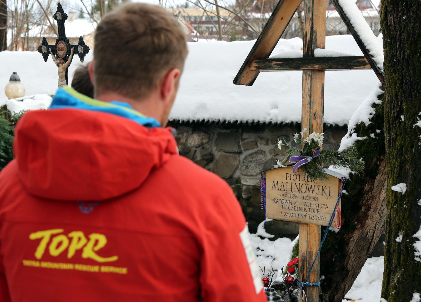 Zakopane Cmentarz na Pęksowym Brzyzku PAP/Grzegorz Momot
